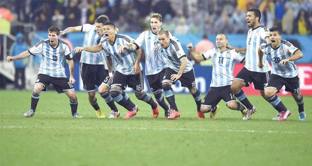 التانجو الأرجنتينى يحطم الطواحين الهولندية بركلات الترجيح