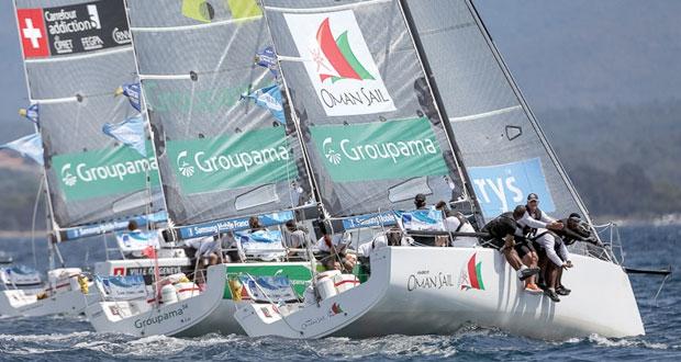 قارب عُمان للإبحار رابعا مع اقتراب خط نهاية الطواف الفرنسي للإبحار الشراعي