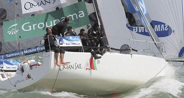 بداية قوية لعُمان للإبحار في المرحلة الأولى للطواف الفرنسي للإبحار الشراعي
