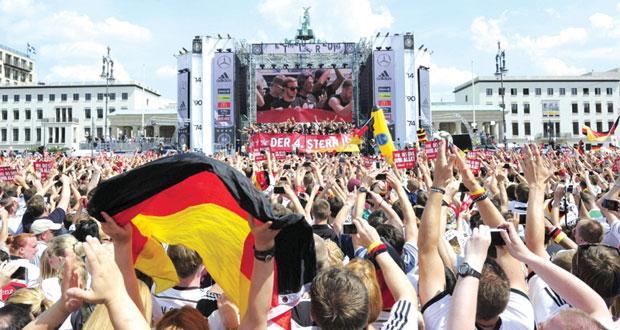 ألمانيا تستقبل أبطال العالم باحتفالات صاخبة
