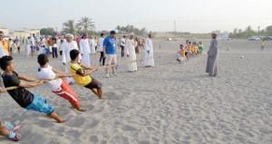 أكثر من 3500 مستفيد من برنامج صيف الرياضة بشمال الباطنة في المرحلة الأول
