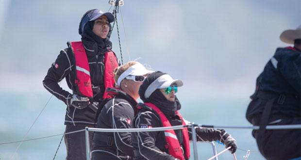 فريق عُمان للإبحار النسائي يختتم منافسة حامية في البطولات الأوروبية لفئة الجي 80