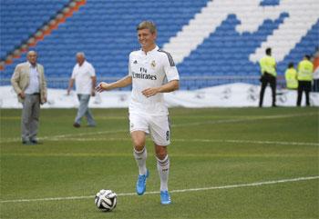 توني كروس في قمة السعادة بعد انضمامه لريال مدريد
