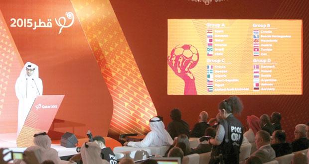 مصر والإمارات والجزائر في المجموعة الصعبة بمونديال اليد