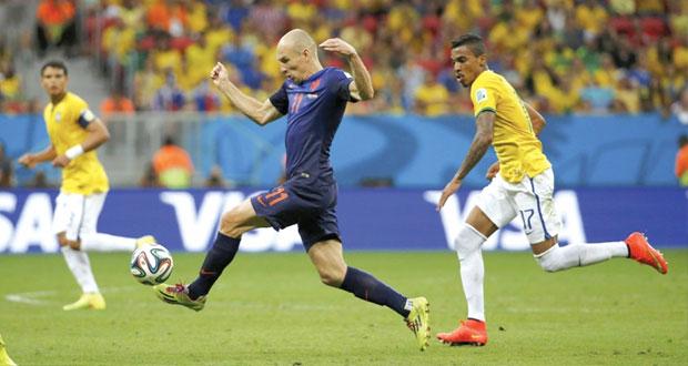 الطاحونة الهولندية تكسب البرونزية وتزيد من جراح الكرة البرازيلية