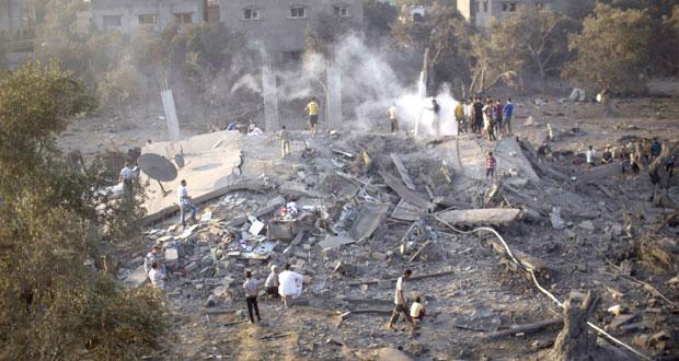 17 شهيدا مع بدء توسيع الاحتلال لعدوانه وصواريخ المقاومة تصل تل أبيب