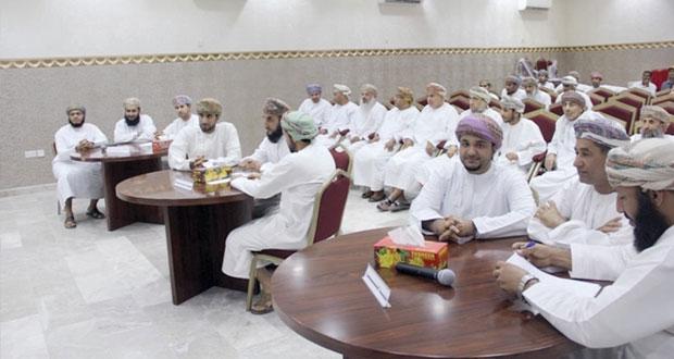 ختام المسابقة الثقافية الرمضانية لبلديات محافظة الداخلية