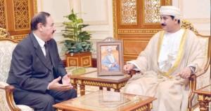 النعماني يستقبل سفير المملكة الأردنية الهاشمية