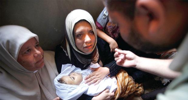 غزة تسطر الصمود أمام (الإرهاب) الإسرائيلي