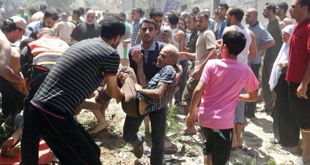 (الضفة) تنتفض لنصرة غزة وعشرات الإصابات بمواجهات مع قوات الاحتلال