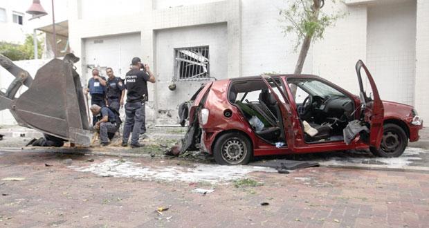 المقاومة تقصف تل أبيب ونتانيا وطائرات القسام تحلق فوق مبنى وزارة جيش الاحتلال