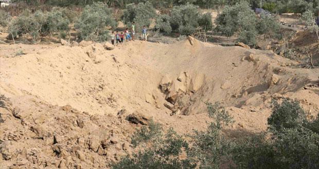 استشهاد عاملين فلسطينيين دهستهما شاحنة اسرائيلية بحيفا