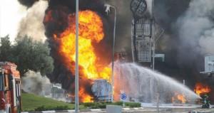 حصيلة حملة (الإرهاب) الإسرائيلي على غزة تتجاوز 100 شهيد