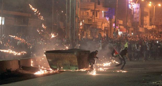 (الضفة) تنتفض لنصرة غزة
