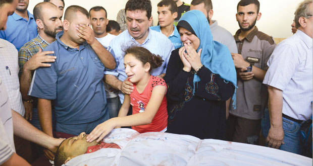غزة : 5 شهداء والاحتلال يخرق الهدنة ويواصل المماطلة في مفاوضات القاهرة