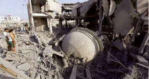 العدوان على غزة: 10 شهداء وعباس يتجه لـ(مبادرة شاملة) لإنهاء الاحتلال