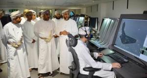 افتتاح مركز المراقبة الجوي الانتقالي بمطار مسقط الدولي باستخدام أنظمة هي الأولى على مستوى العالم