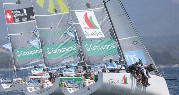 فريق عُمان للإبحار ثالثا في ختام منافسات الطواف الفرنسي للإبحار الشراعي
