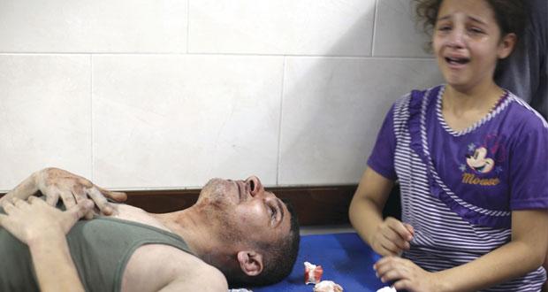 شهداء العدوان على غزة يتجاوزون الـ1850 .. واقتحام لـ(الأقصى) وعملية بالقدس