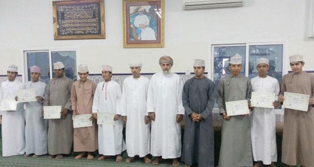ختام الملتقى الثقافي الفني لفريق الصمود نـزوى