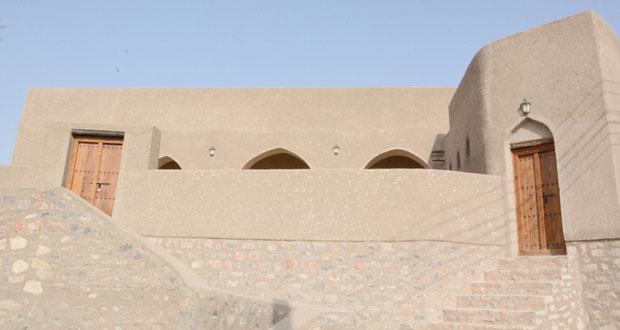 الانتهاء من أعمال ترميم جامع القناطر الأثري في إبراء