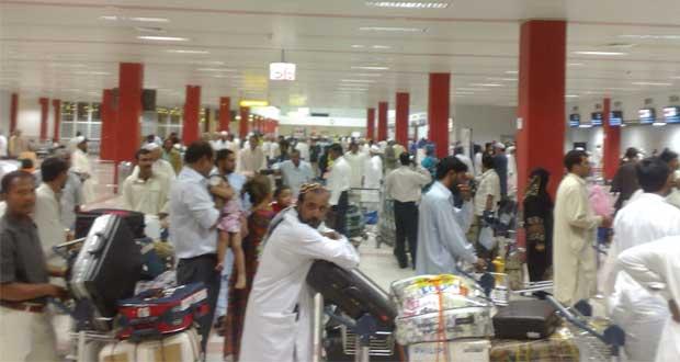 أكثر من 4.4 مليون مسافر عبر مطار مسقط الدولي بنهاية الربع الثاني من العام الجاري