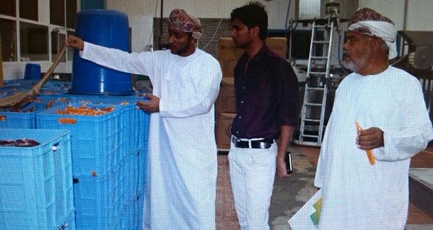 حملات توعوية لمصانع ومخازن المواد الغذائية بالمصنعة