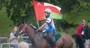 الفارس سامي البلوشي يحقق المركز السابع في بطولة كأس العالم للقدرة والتحمل بنورمندي