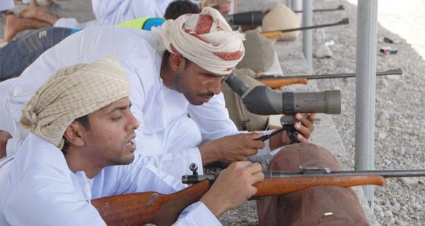 فريق الوافي عندام بولاية المضيبي ينظم مسابقة للرماية التقليدية