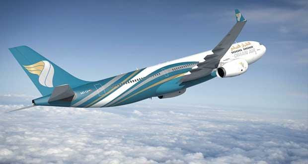"""ديسمبر القادم.. """"الطيران العماني"""" يبدأ تسيير رحلاته إلى مانيلا وجاكرتا"""