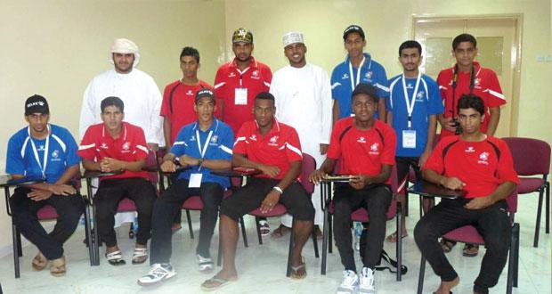 المعسكر شهد فعاليات وبرامج وأنشطة أسهمت في تنمية قدرات ومواهب الشباب