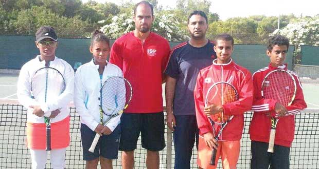 منتخب ناشئي التنس يبدأ المشوار في البطولة العربية بتونس
