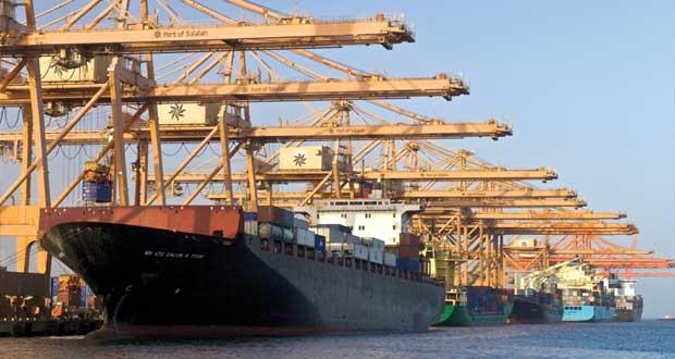 ميناء صلالة الثالث على مستوى أوروبا والشرق الأوسط وإفريقيا في إنتاجية الأرصفة