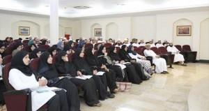 بدء العام الأكاديمي الجديد للأطباء المقيمين الملتحقين بالمجلس العماني للاختصاصات الطبية