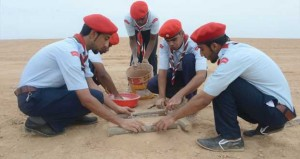 تواصل فعاليات وأنشطة المخيم الكشفي لمرحلة الجوالة ومنتدى القادة