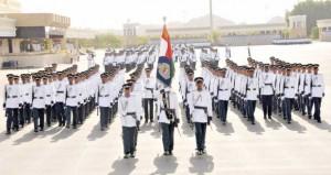 شرطة عمان السلطانية تحتفل بتخريج الدفعة التاسعة والخمسين من فصائل الشرطة المستجدين