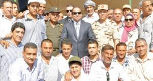 الرئيس المصري يزور السعودية غدا