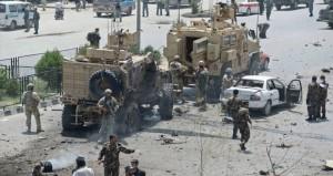 """مقتل 4 أشخاص في هجوم """" طالباني """" على قافلة لـ"""" الناتو"""" بكابول"""