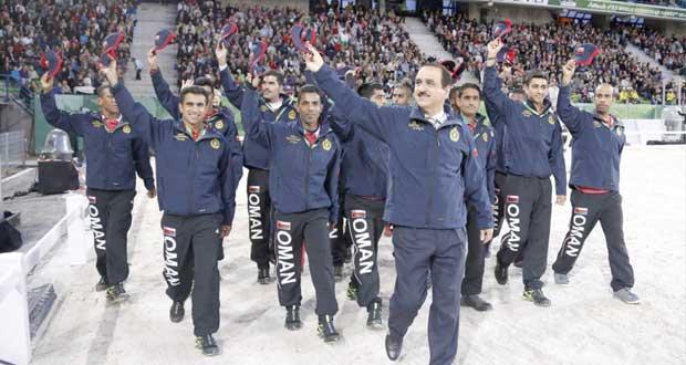 السلطنة تشارك في بطولة العالم لألعاب الفروسية