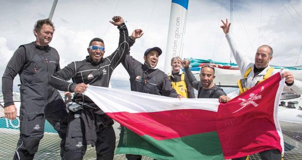 القارب العُماني مسندم يسجّل رقما قياسيا عالميا في سباق الإبحار حول بريطانيا وإيرلندا