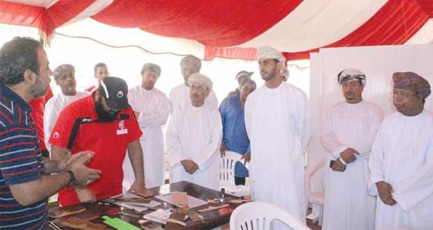 تواصل فعاليات معسكر شباب الأندية بمحافظة ظفار