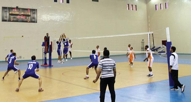 انطلاق منافسات كرة الطائرة المرحلة الثانية لفرق أندية محافظة الداخلية