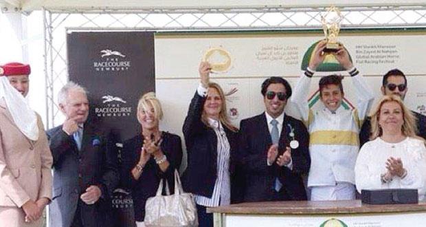 إنجاز جديد للفروسية العمانية بسباق مونديال الشيخة فاطمة بنت مبارك ببريطانيا