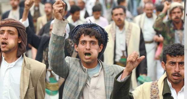 اليمن : مسلحون ومحتجون حوثيون بانتظار (جمعة صنعاء) وهادي يتوعد أي إخلال بالأمن