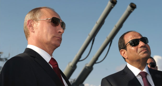 مصر وروسيا تتفقان على تعزيز التعاون العسكري