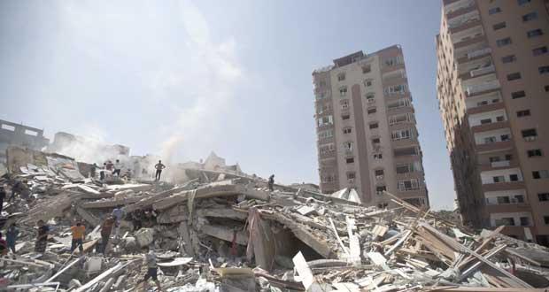 العدوان على غزة: 14 شهيدًا بينهم قيادي بحماس .. والقطاع بلا تعليم