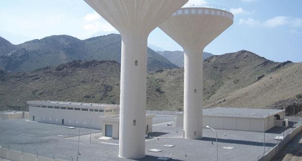 الهيئة العامة للكهرباء والمياه تنفذ عددا من المشاريع المائية على مستوى المحافظات