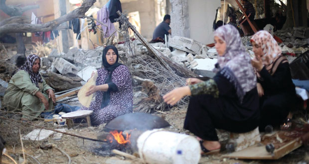 الاحتلال ينقض الهدنة ويقصف غزة وشهيد بجراح العدوان
