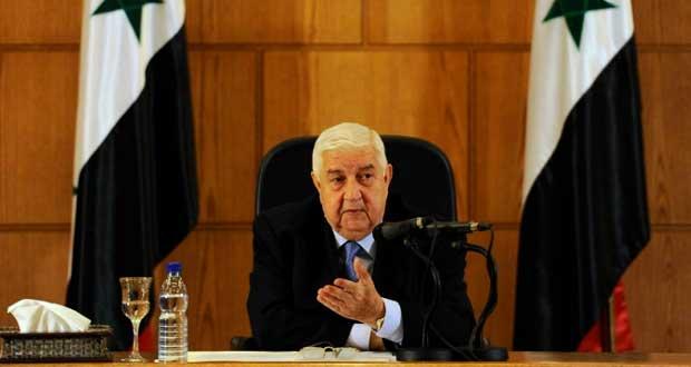 سوريا ترحب بالتنسيق الإقليمي والدولي لمكافحة الإرهاب وتعتبر أي غارات خارجه عدوانا