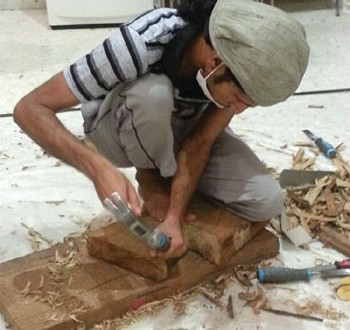 وزارة التراث والثقافة تنفذ ورشة الفنون التشكيلية في مجال الخزف بالمصنعة